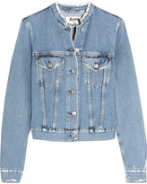 Acne Studios Distressed Denim Jacket - Light denim