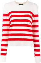 Rag & Bone cashmere striped jumper - women - Cashmere - M
