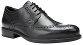 Geox Carnaby Leather Brogues, Black