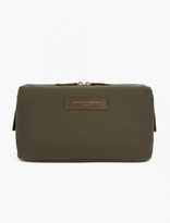 Want Les Essentiels Green Organic Cotton Kenyatta Wash Bag