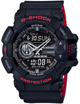 G-Shock World Time Black Resin Strap Watch