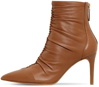 Alexandre Birman 85mm Susanna Leather Ankle Boots
