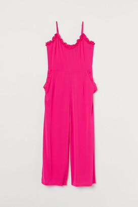 H&M Ruffle-trimmed Jumpsuit