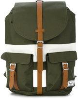 Herschel double straps striped backpack