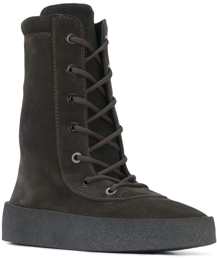 Yeezy Suede crepe boot