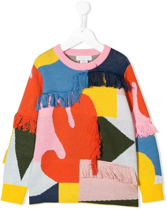 Stella McCartney Kids Fringe Jumper