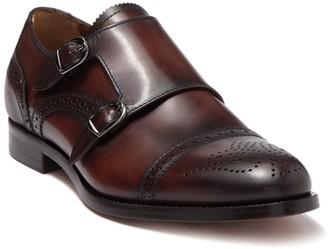 Antonio Maurizi Leather Double Monk Strap Loafer