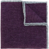 Eleventy checked pocket square - men - Wool - One Size