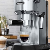 "De'Longhi Dedica Stainless Steel 6"" Mini Pump Espresso/Cappuccino Maker"
