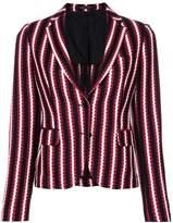 Tagliatore striped woven blazer