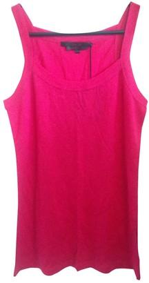 L'Wren Scott Pink Cotton Top for Women