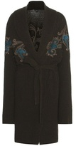 Etro Wool-blend Printed Knitted Cardigan