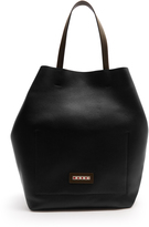 Marni Grained-leather shopper