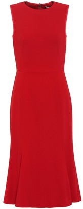 Dolce & Gabbana Sleeveless stretch midi dress