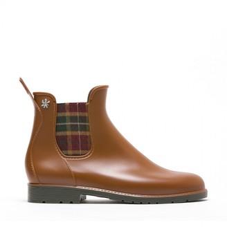 Le Lab - Cognac Rain Boots - plastic | cognac | 36 (3.5) - Cognac