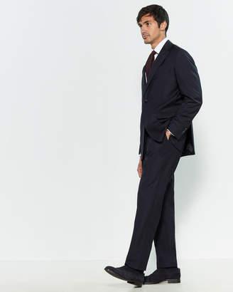 Luigi Bianchi Mantova Zegna Fabric Suits By Small Windowpane Check Suit