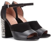 Marni Leather And Suede Sandals