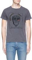 Remi Relief 'Grateful Head' skull print cotton T-shirt