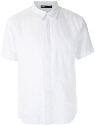 Handred Linen Short Sleeves Shirt