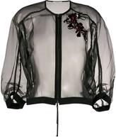 Schumacher Dorothee embroidered detail jacket