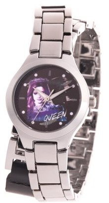 Disney Descendants 3 Audrey Girl's Silver Alloy Watch, 1-Pack