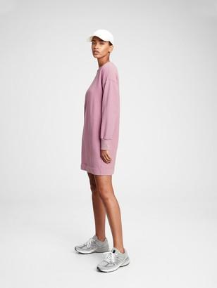 Gap Fleece Sweatshirt Dress