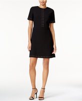 Bar III Studded A-Line Dress, Only at Macy's