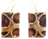 Ananda Brass/copper Earrings