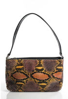 Rafe New York Multicolored Snakeskin Small Shouder Bag