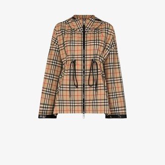 Burberry Bacton archive check-print sports jacket
