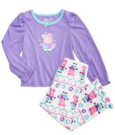 Peppa Pig 2-Pc. Pajama Set, Toddler Girls (2T-5T)