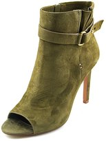 BCBGeneration Carolena Women US 8 Green Peep Toe Ankle Boot