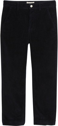 Everlane The Corduroy Straight Leg Crop Pants