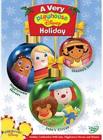Disney A Very Playhouse Holiday DVD