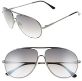Tom Ford 'Cliff' 61mm Aviator Sunglasses
