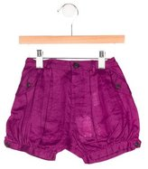 Burberry Girls' Four Pocket Mini Shorts w/ Tags
