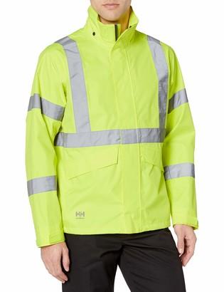 Helly Hansen Work Wear Men's Alta Shelter High Visabilty Big and Tall Jacket