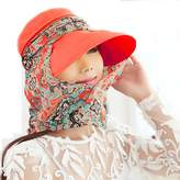 Yimidear Summer Collapsible sun hat Female hat Baseball cap Women anti UV hat