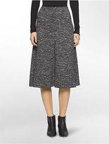 Calvin Klein Womens Double Faced Knit Skirt