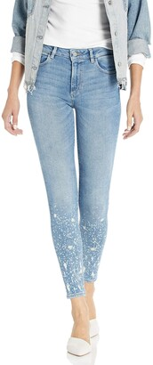 DL1961 Women's Florence Ankle-Mid Rise Instasculpt Skinny Jeans