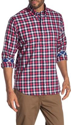 Tailorbyrd Check Print Woven Shirt