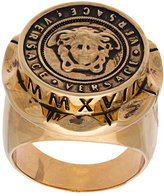 Versace Medusa medallion ring