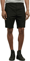 Kenneth Cole Twill Front Short With Side Stripe