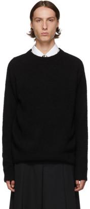 Dries Van Noten Black Merino Sweater
