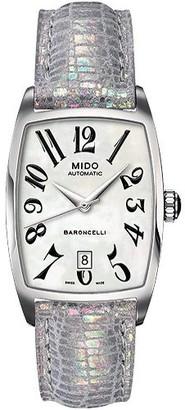 MIDO Ladies Watch Automatic Baroncelli Tonneau M0033071612200
