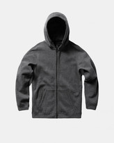 Reigning Champ Full Zip Hoodie (Charcoal | Bonded Terry)