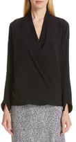 Zero Maria Cornejo Jazmin Stretch Silk Shirt