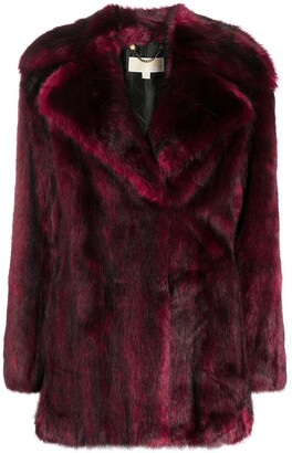 MICHAEL Michael Kors Faux-Fur Mid-Length Coat