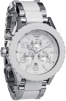 Nixon 'The 42-20 Chrono' Acetate & Stainless Steel Watch