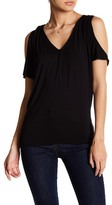 Velvet by Graham & Spencer Cold Shoulder Dolman Sleeve Shirt